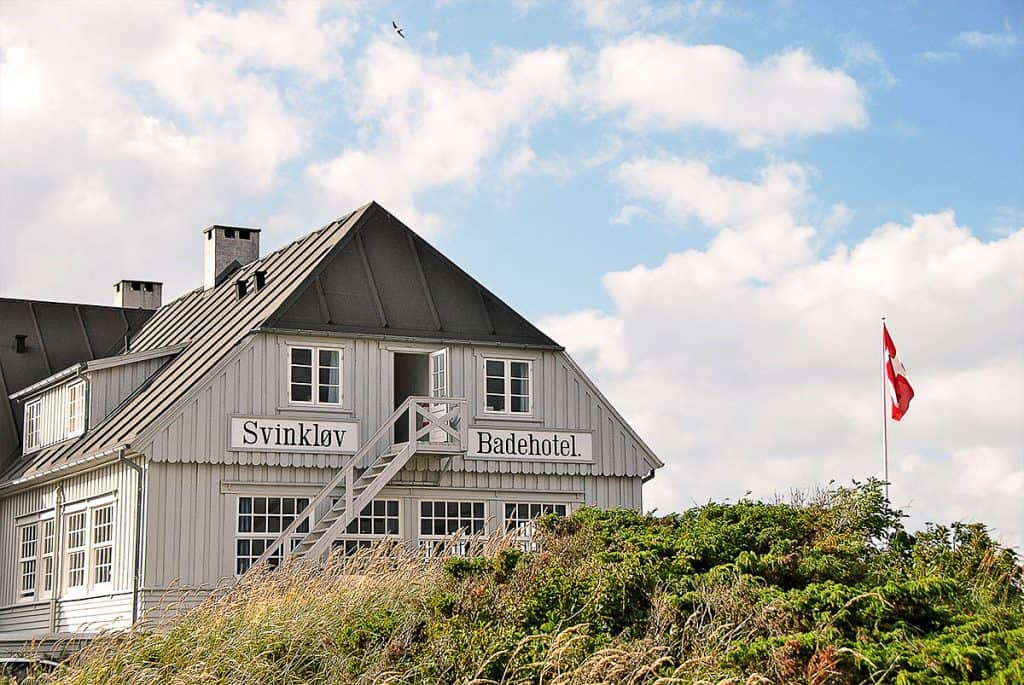 Badehoteller i Danmark - Svinkløv Badehotel