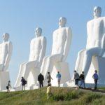 Udflugt til Svend Wiig Madsens skulptur