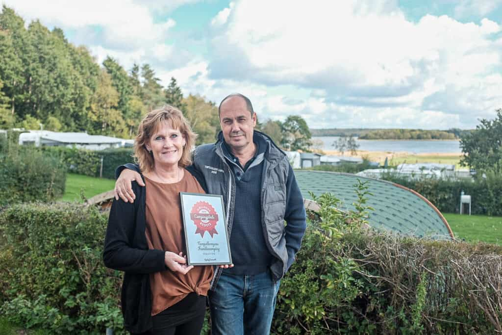 the temple inn's family campsite receives the diploma for the best campsite in Zealand 2019